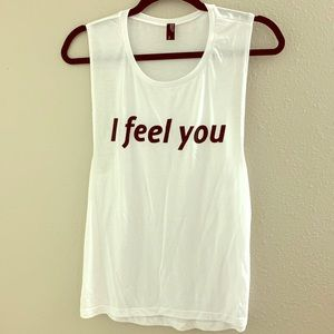 Private Party 'I Feel You' Tank